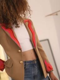 Chaqueta blazer americana colección otoño-invierno 2021